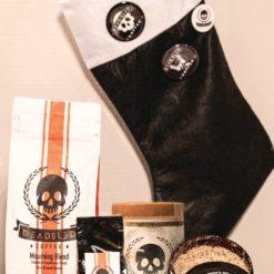 Black Stocking Holiday Gift Set
