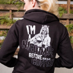 Nightmare Before Coffee Hoodie