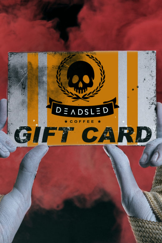 Dead Sled Coffee Gift Card