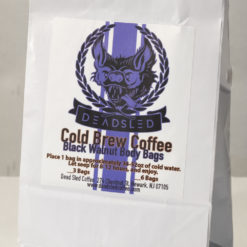 black walnut cold brew coffee