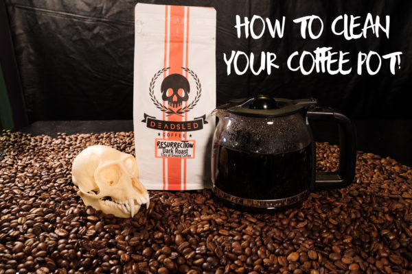 how to clean your coffee maker