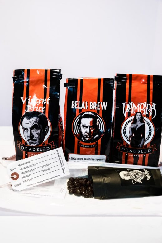 horror coffee body bag bundle