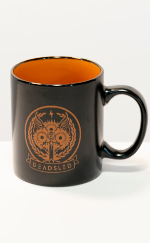 dead sled coffee mug