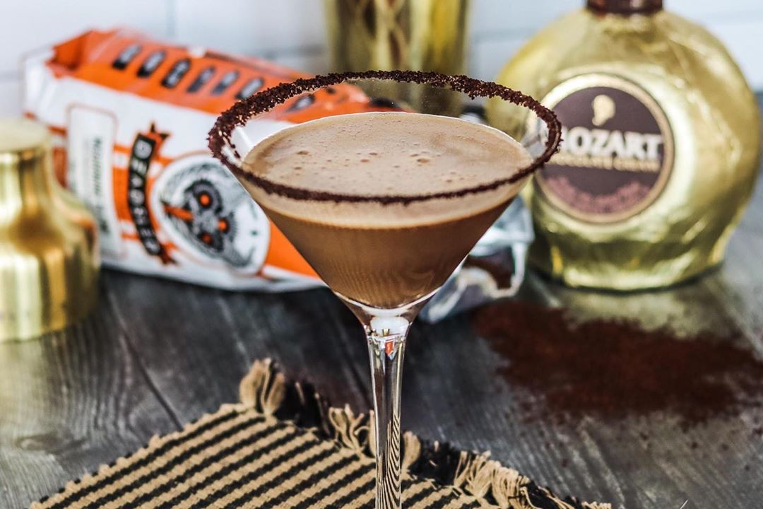 chocolate cold brew martini