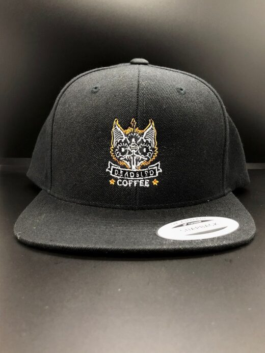 dead sled coffee snapback hat