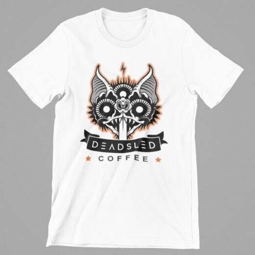 Dead Sled Coffee Shirt White